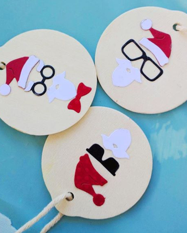 hipster_santa_ornaments