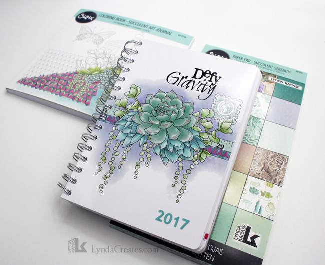 succulent_serenity_art_journal_planner