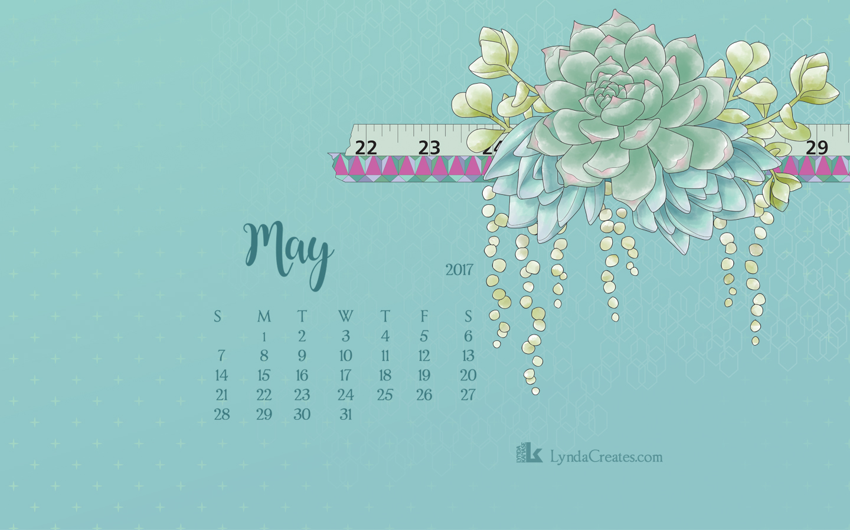 April Calendar Screensaver : Free may downloadable desktop calendar lyndacreates