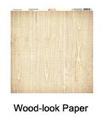 Wood-Look Paper