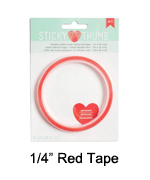 1-4 red tape