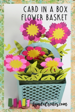 Sizzix Card in a Box Flower Basket pin