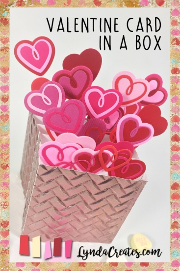 Valentine Card in a Box pin