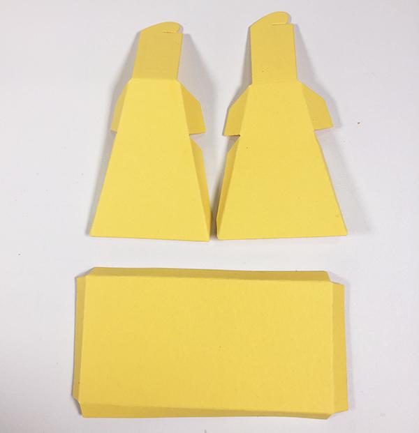 sides folded