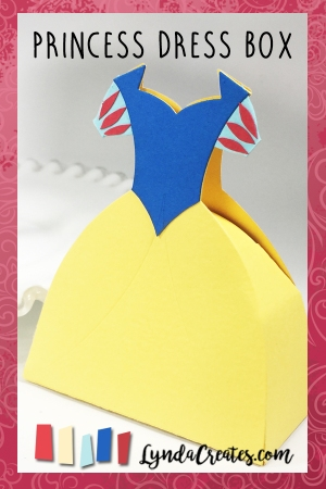 Snow White Dress Box pin
