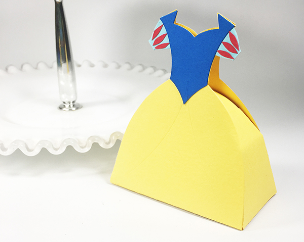 Snow White Dress Box