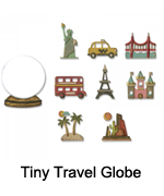 664182 Tiny Travel Globe