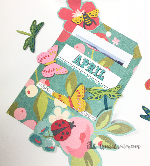 April Pocket Tag