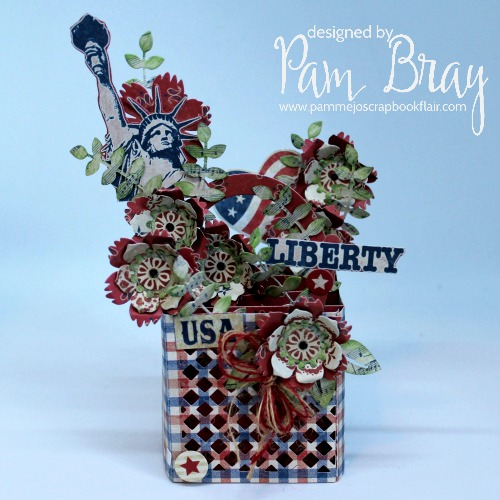 Lynda Kanase Liberty Flower Basket Card in a Box by Pam Bray using Authentique Liberty Collection - May 2019_5385