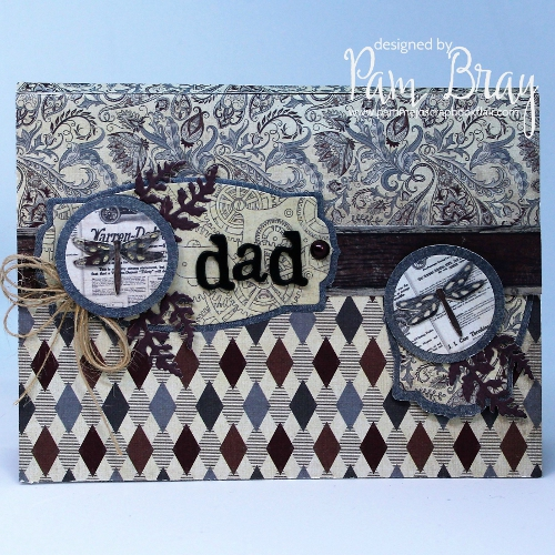 1Lynda Kanase Dad Card with Gift Card and Planner Clips by Pam Bray using Authentique Mister Collection- June 2019_5411