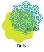 222028 Doily